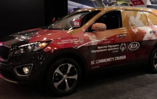 Kia Special Olympics Vehicle