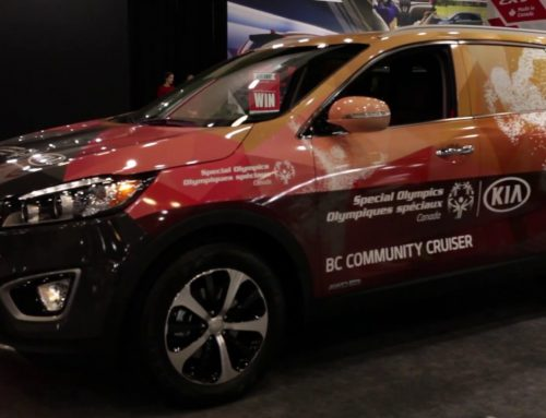 Kia will drive home the message of Special Olympics